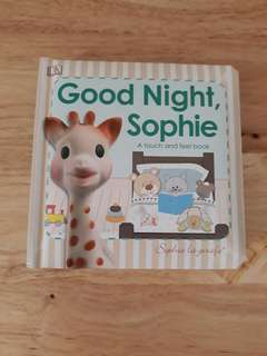 Good Night, Sophie A touch and feel book