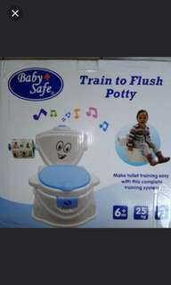 Baby Safe Train To Flush Potty Training