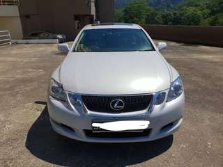 Lexus GS300 with sunroof