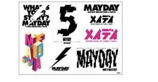 五月天 Life 人生無限公司日本限定周邊貼紙組 sticker set
