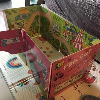 Children Books pink car