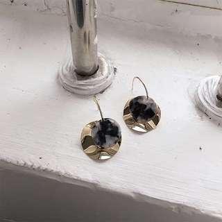 🚚 金屬醋酸耳環