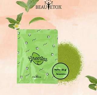 Green tea beautetox