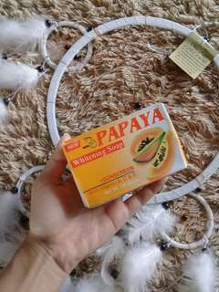Sabun PAPAYA (whitening soap) +Sunscreen
