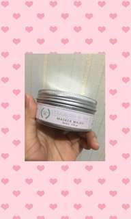 natural green masker strawberry