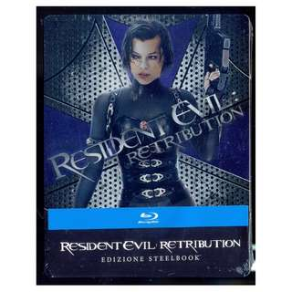 Resident Evil - Retribution - New Blu-Ray