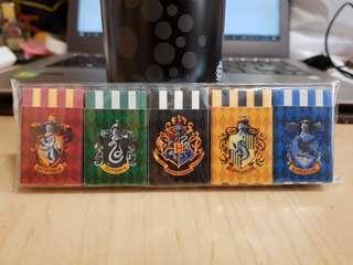 USJ Harry Potter Erasers (All Hogwarts Houses)