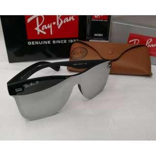 Rayban 65O Edition Polarized Silver