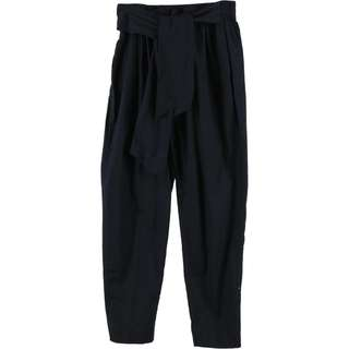 Zara Dark Blue Tied Pants