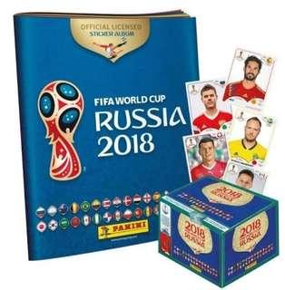 🚚 Panini World Cup 2018 Stickers