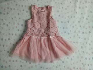 Pink dress by Baby Brand
