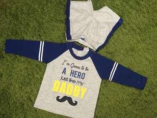 Baju Baby Boy (6-12mths)