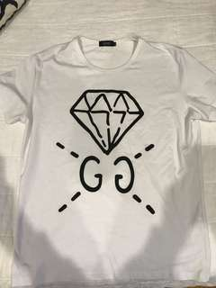 Gucci OG t shirts black and white