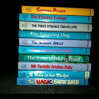 10 Enid Blyton hardcover story books for children