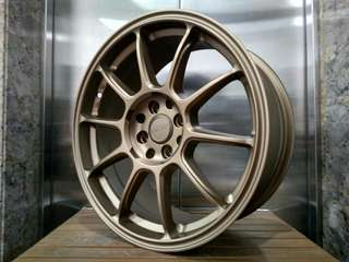 velg rays f1 ring 17 cocok jazz yaris swift dll