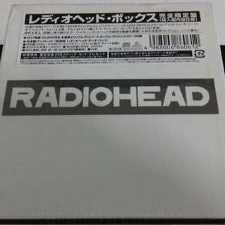 Radiohead Box set sealed rare Japan only limited edition 7 Studio Album new