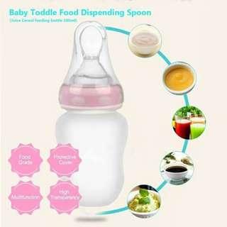 Food Dispensing Bottle - PINK