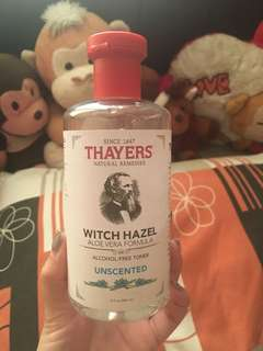 THAYERS Alcohol Free Toner Unscented