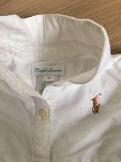 EUC Ralph Lauren white dress