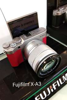 DP 0% Fujifilm X-A3 Kredit Tanpa Kartu Kredit