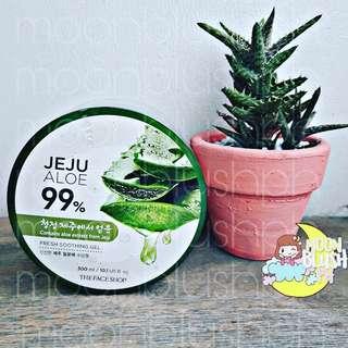 THE FACESHOP JEJU ALOE 99% FRESH SOOTHING GEL (tub) 300ml