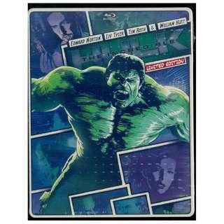 The Incredible Hulk - New Blu-Ray Steelbook