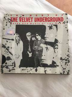 The Best Of The Velvet Underground - Words & Music Of Lou Reed CD