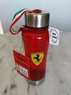 Ferrari BPA free 600ml water bottle水瓶