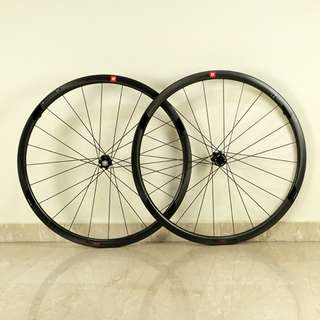 3T Discus C35 Team Stealth Disc Brake Carbon Clincher Wheelset