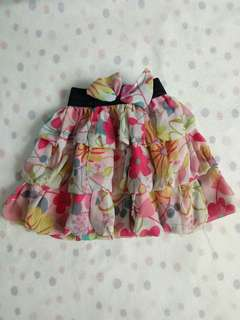 Baby floral skirt