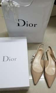 Dior J'ADIOR Slingback 尖頭平底鞋