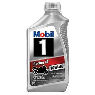Motorcycle Mobil 1 Servicing Package
