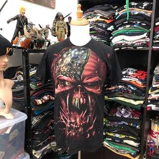 Iron Maiden Final Frontier Tour Tshirt Overprint