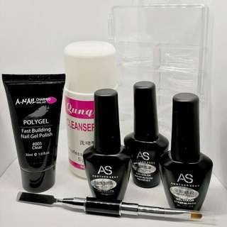 Poly gel Nail Extension Complete Set
