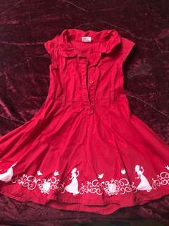 PRELOVED DRESS FOR 2 to 3 ages