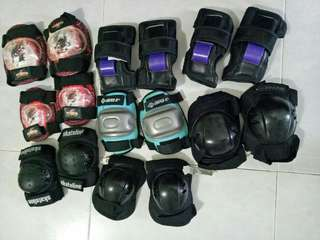 Knee Guards and wrist guard