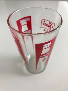 Yeo Hiap Seng drinking glass