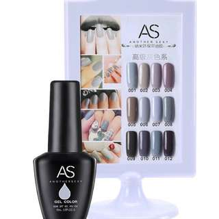 AS Soak Off Gel Polish 15ml