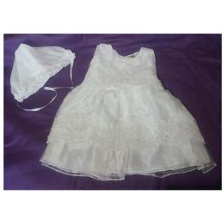 Baptismal Dress 6-8mos
