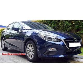 MAZDA3 SEDAN FOR PERSONAL / GRAB USAGE