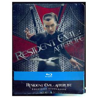 Resident Evil - Afterlife - New Blu-Ray Steelbook