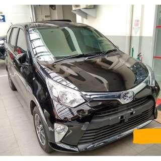 Nemob Ramadhan Sale! Sewa mobil New Calya 2018 lepas kunci (self drive) di Jakarta.
