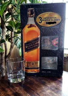 Limited Edition Johnnie Walker Whiskey Glass