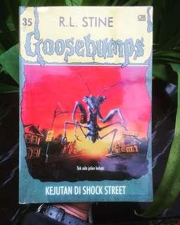 Goosebumps. Kejuatan Di Shocker Street