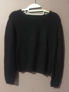 I ♥️ Colorbox - Black Knitted Sweater