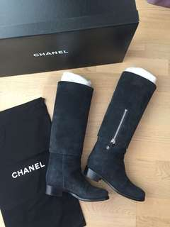 Chanel Sweden Boots 37