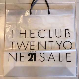 Club 21 Plastic Carrier