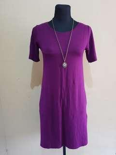 Purple dress.. good qualiyy material
