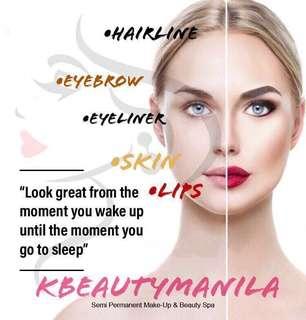 Semi Permanent Make-Up Treatment