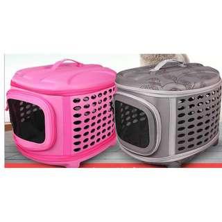 貓咪狗狗通用出門便攜手提寵物包HK$338(旅行出行外)